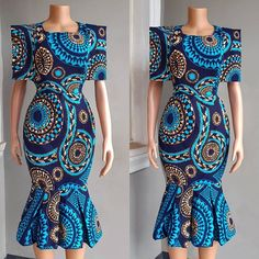 Unique and Classy Ankara Gown Styles for Beautiful Ladies African Wear Dresses, African Fashion Ankara, Latest African Fashion Dresses, African Print Fashion, Africa Fashion, African Attire, Simple Gowns, Ankara Gown Styles, African Traditional Dresses