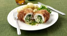 How to make this succulent chicken, which oozes with a garlic and butter stuffing. Delicious and simple to make. by Instant Improver