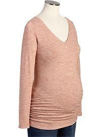 Maternity Lightweight V-Neck Sweaters