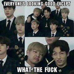 BTS V/Taehyung e Jungkook/Jeongguk Taekook Taekook, Bts Bangtan Boy, Jimin, Bts Taehyung, Vkook Memes, Pokerface, Les Bts, Bts Memes Hilarious, Got7 Funny