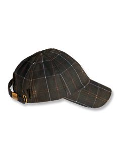 BARBOUR TARTAN CASCADE CAP - BLUE.  barbour  04db66eaad67