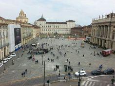 piazza castello Torino italy