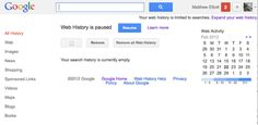 How to remove your Google Web Data History - Yahoo News