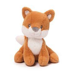 GUND Baby Rococo Fox Stuffed Animal Rattle