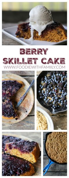 Berry Skillet Cake