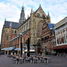 Grotemarkt, Haarlem, Netherlands just around the corner from the clock shop of the ten Boom family!