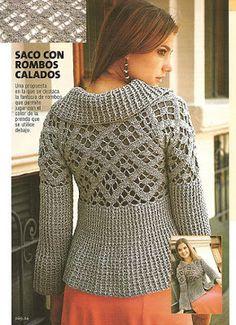 innovart en crochet: patrones....not inenglish but has graphic pattern...