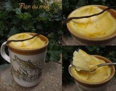 Recette - Flan au mug | Notée 4/5