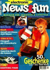 Mein Versuch, eine Elektronik-Fun-Zeitschrift zu etablieren, aber die Zeit war dafür wohl noch nicht reif. Konzept und Chefredaktion.