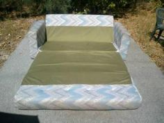Sofa bed foldout type suit holiday or beach house.