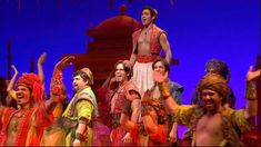 Video: The Cast of 'Aladdin' Performs 'Arabian Nights' Live
