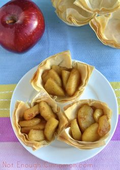Caramelized Apple Phyllo Cups