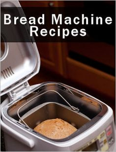 Bread Machine Recipes:   You'll find herbed, white and even foccacia, bagels, cinnamon rolls and monkey bread. Including Rolls & Assorted Items   Enjoy!