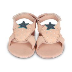 Donsje Amsterdam Baby/Toddler Sadie Sandals - Strawberry - TheTot