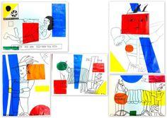 les petites têtes de l'art: D'après Fernand Léger