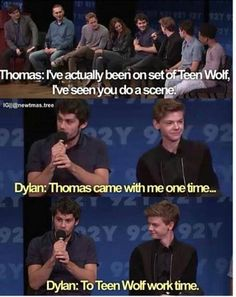 Dylan and Thomas's friendship