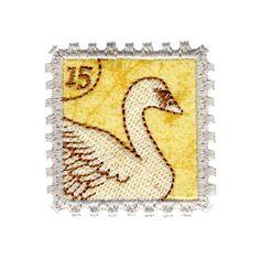 Swan Stamp Applique #12383-02