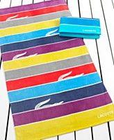 Lacoste Towels, Crocosubmarine Beach Towel