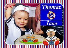 Fotos, edição e montagem: Kátia Alessandra   F.: (11) 99384-0189 1 ano de Thomaz, com tema de marinheiro