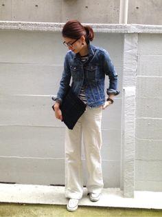 #ootd coordinate style styling コーデ コーディネート コンバース キャンバス スニーカー ハイカット ローカット 白 ホワイト white 黒 ブラック black