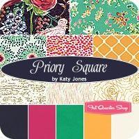 Priory Square Fat Quarter BundleKaty Jones for Limited Edition of Art Gallery Fabrics