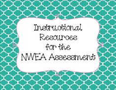 resources for the NWEA MAP test