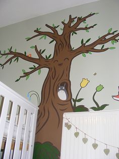 Studio ghibli nursery for a girl