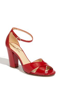 kate spade new york 'isabel' patent - One can never have too many pair of red shoes.