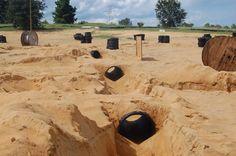 Paintball Field Photos | Gears Of War Press Section