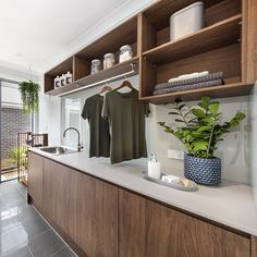 Small Laundry, Laundry In Bathroom, Laundry Rooms, Urban Interior Design, Mcdonald Jones Homes, Mudroom, House Tours, New Homes, House Design