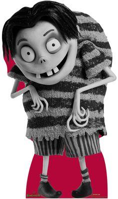 Edgar E. Gore - Tim Burton / Disney Frankenweenie Cardboard Standup