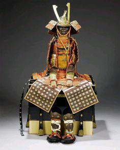 - Warabe Gusoku. A warabe no o-yoroi. (An armour for a boy). Meiji Period ./tcc/