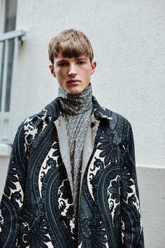 Men's print fashion