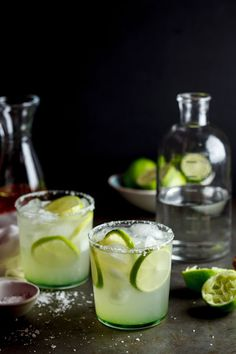 Chilli-infused Margaritas | I make these but muddle cucumber with the ...