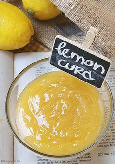 El mejor lemon curd del mundo