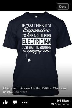 8f06718d4 9 Best Electrician Humour images | Electrician humor, Humor, Humour