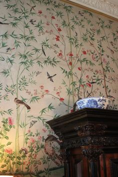 Wall paintings at Chatsworth