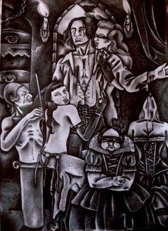"Saatchi Art Artist Celeste Gómez; Drawing, ""IMMORTALIS."" #art"