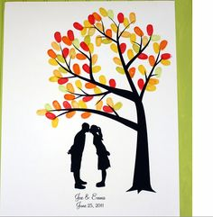 Love this... want this... what perfect artwork to hang after the wedding