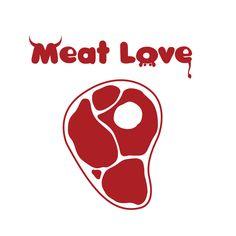 Meat Love Logo by =Dooolittle on deviantART