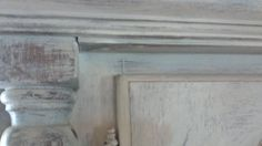Detail of cupboard. French linen, aubusson blue and old white ASCP. French Country House, Natural Materials, Old Houses, Chalk Paint, Cupboard, Detail, Blue, Painting, Image