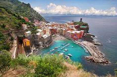 Vernazza sahil kasabası,İtalya