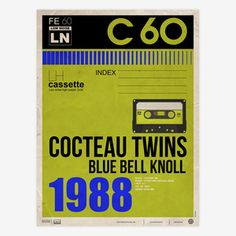 Cocteau Twins Blue Bell Knoll, $36, now featured on Fab.