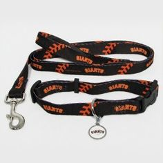 Get your furry friend into the game with this Dog Collar & Leash Set featuring your favorite team's colors, name and logo. The set includes an adjustable collar, 6ft leash and I.D. tag. The leash and collar are made of sturdy sublimated polyester webbing for ultimate durability. Collar measures: Small (10-14 inches), Medium (14-20 inches), Large (18-26 inches). - A quality product from the licenced US sports goods, US sports wear and US sports merchanise range at Distinct Sports Goods