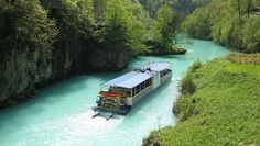 River Isonzo ( Italy) and Soca ( Slovenjia), considered one of the worldwide most beautiful river.