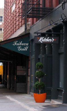 Tribecca Grill. Yum.