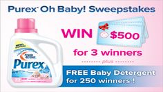 "Enter to Win the Purex ""Oh Baby"" #Sweepstakes 