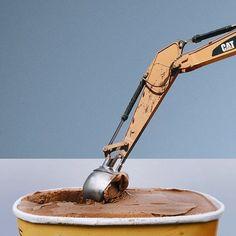 Overlapping Photography Mashups Food Art Via  Trendhunter