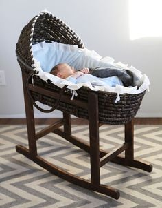 Ana White | Build a Rocking Moses Basket Stand | Free and Easy DIY Project and Furniture Plans