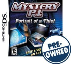 Mystery P.I.: Portrait of a Thief - PRE-Owned - Nintendo DS